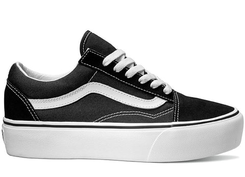 gravitypope - vans - OLD SKOOL PLATFORM (canvas and suede) - Womens Footwear