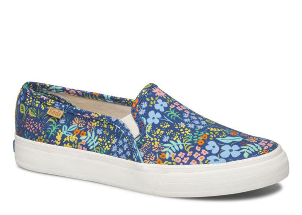 Keds x Rifle PaPer Co. Double Decker in Meadow print
