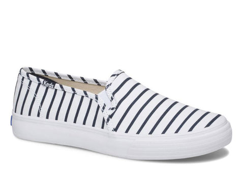 Keds Double Decker Slip-on in Breton stripe