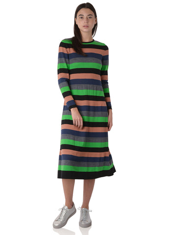 BASIL STRIPES DRESS