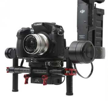 dji ronin-m camera tray panasonic gh4