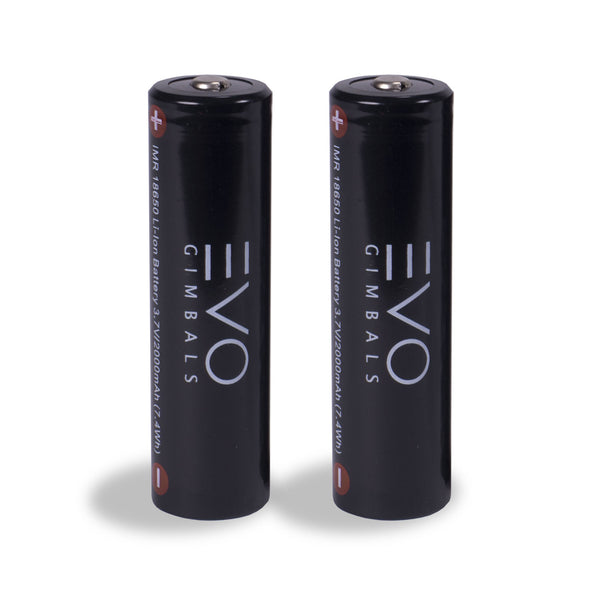 EVO 18650 Li-Ion Batteries 2000mAh