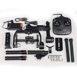 Ronin-M gimbal from DJI for DSLR cameras boxed contents