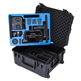 Ronin-m travel case for DJI Ronin-m gimbal from GoProfessional two levels