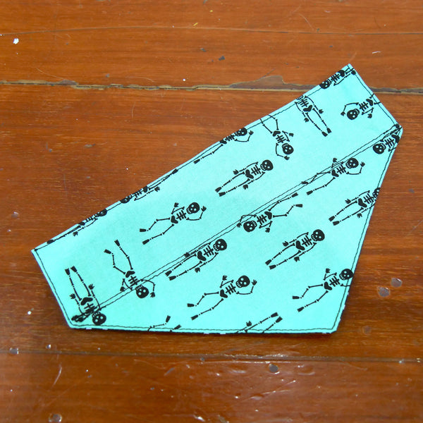 Mint Skeletons Bandana
