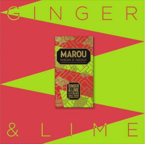 Marou Ginger and lime