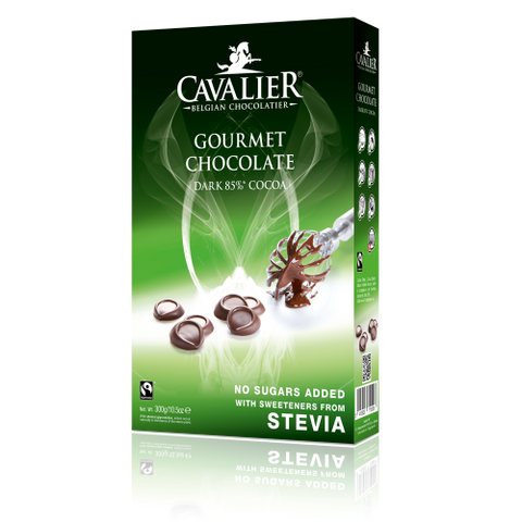 Cavalier Stevia Dark Chocolate Buttons