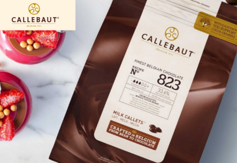 Callebaut Belgian Milk Chocolate Callets