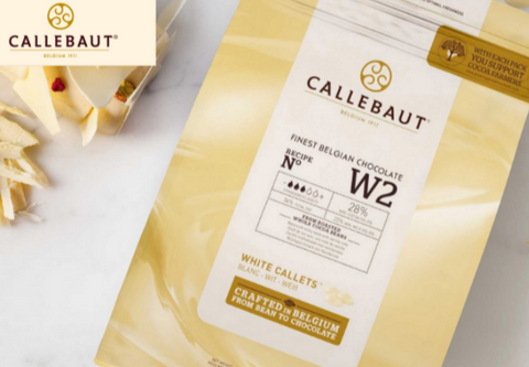 Callebaut Belgian White Chocolate Callets