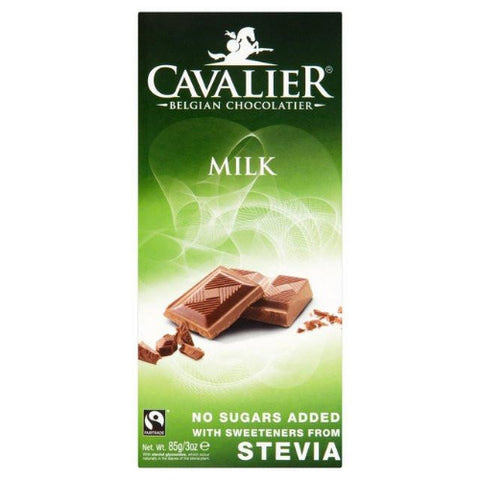 Cavalier Stevia Milk Chocolate Tablet
