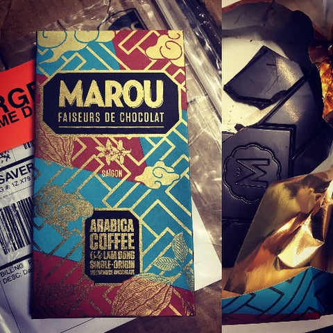 Marou coffee Lam Dong