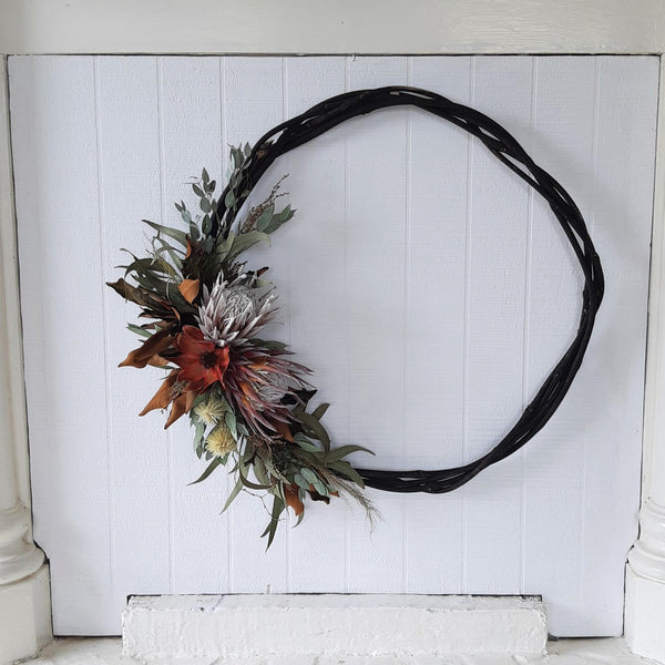 Dried Flower Wreath - Large