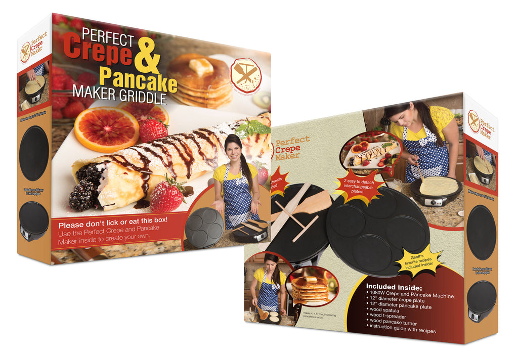 Perfect Crepe Maker and Pancake Maker