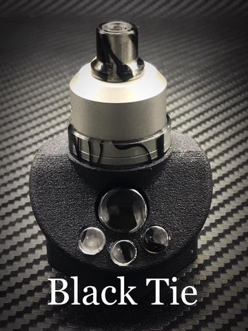 BMM Lathe Turned Accessories - Black Tie