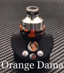 BMM Lathe Turned Accessories - Orange Dama