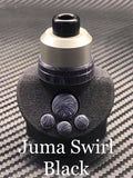 BMM Lathe Turned Accessories - Juma Swirl Black