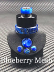 BMM Lathe Turned Accessories - Blueberry Mesh