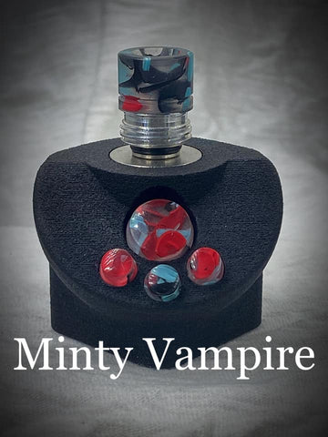 BMM Lathe Turned Accessories - Minty Vampire