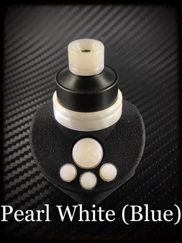BMM Lathe Turned Accessories - Pearl White