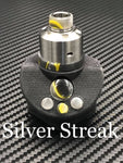 BMM Lathe Turned Accessories - Silver Streak ( Yellow Black Silver)