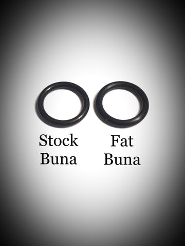 Pure Buna Boro Seals (O-Ring) - Fat and Stock 4pc