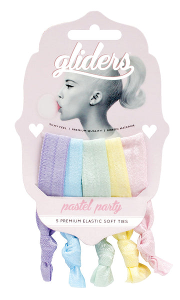 Gliders Softies 5pc - Pastel Party