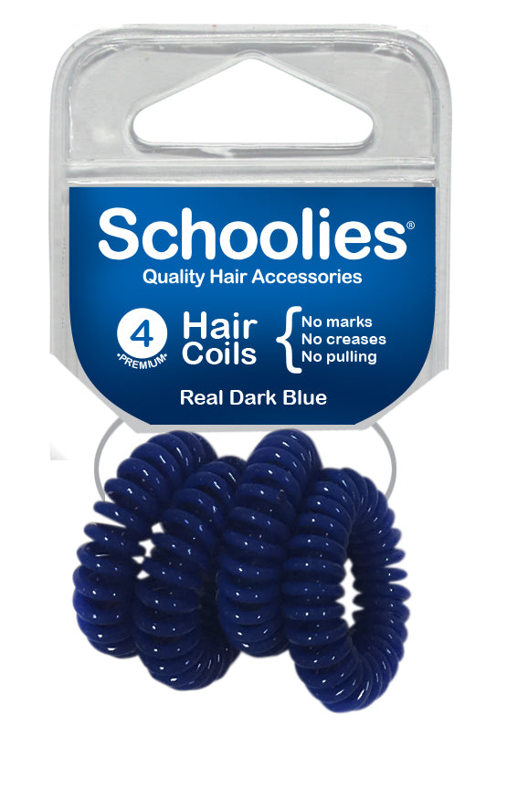 Schoolies Hair Coils - Real Dark Blue