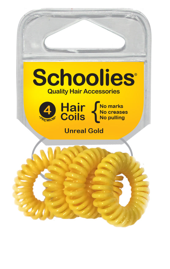 Schoolies Hair Coils - Unreal Gold