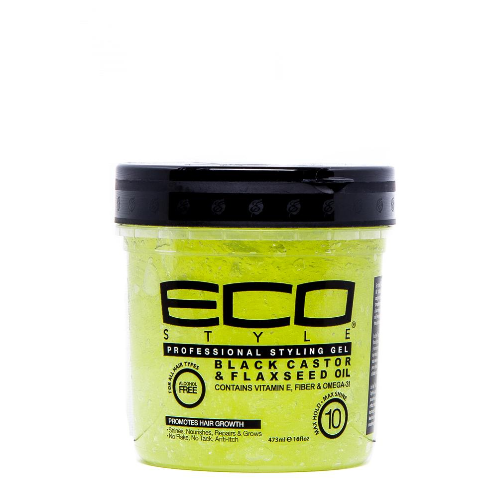 Eco Style Black Castor & Flaxseed Oil Styling Gel 473ml