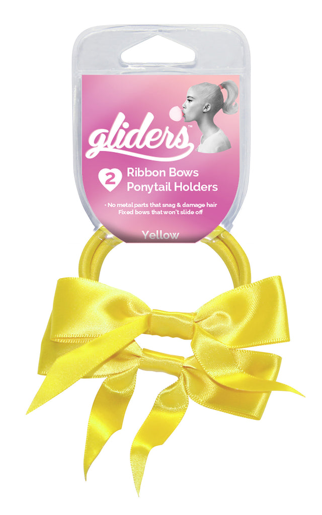Gliders Twin Bows 2pc - Yellow