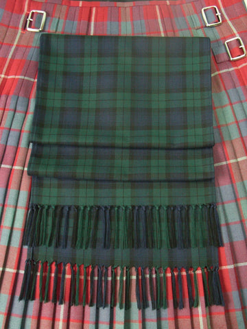 Tartan Sash in with Hand-knotted Fringe | Handmade in Scotland – Jewellery by Callum Kilts