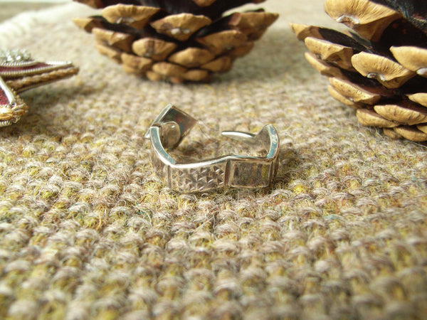 Sterling Silver Serpent / Snake Ring