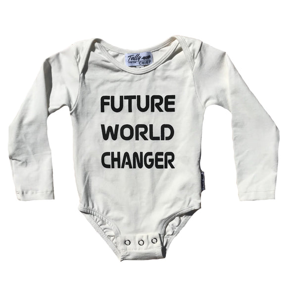 MARLIE LONG SLEEVE BODYSUIT- Future World Changer