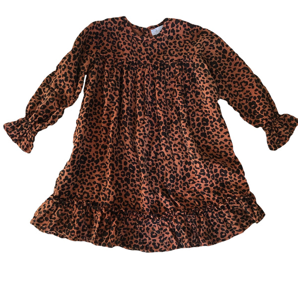 TOVIE DRESS || Rusty Leopard