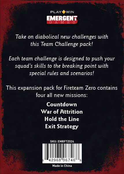 FTZ Mission Pack - Team Challenge
