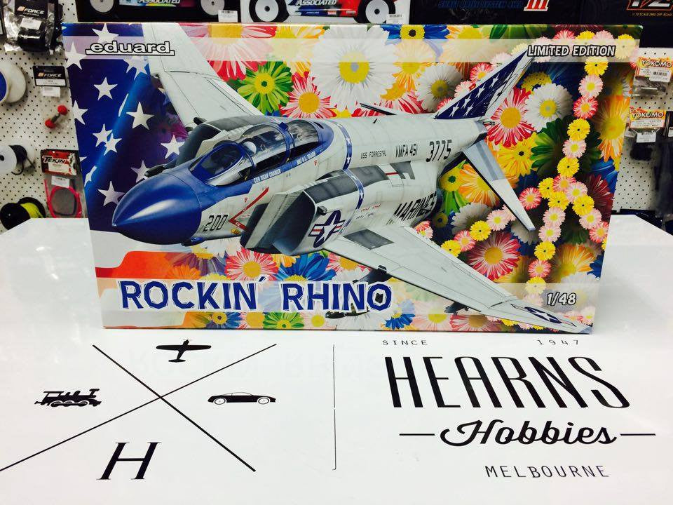 Rockin' Rhino By Eduard #1143 1/48th scale
