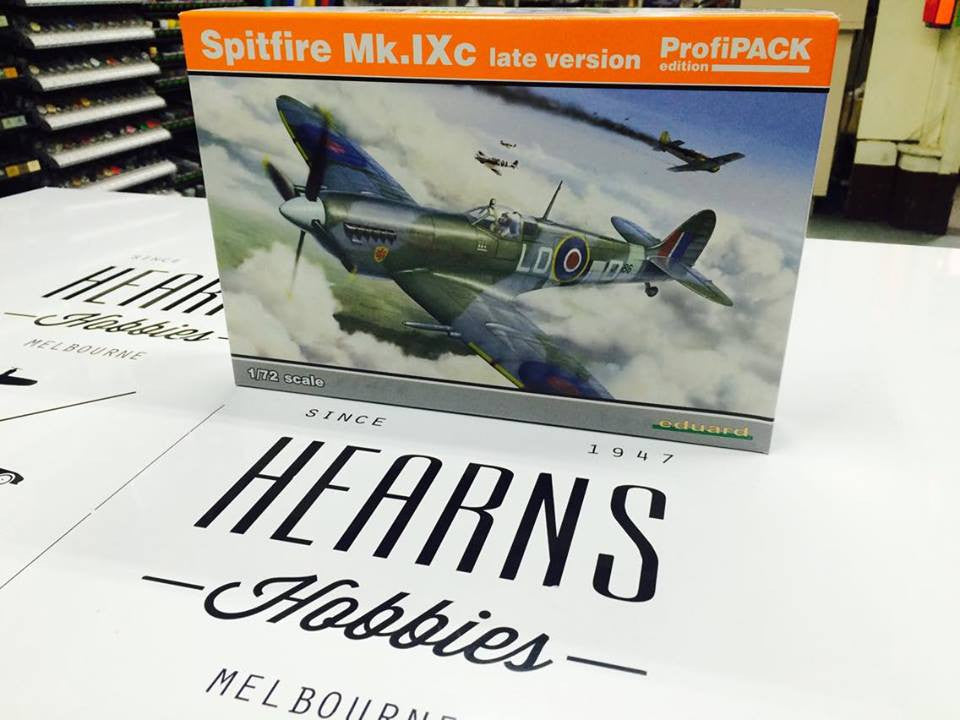 Eduard Spitfire Mk.IXc late version Profipack Edition 1/72nd scale