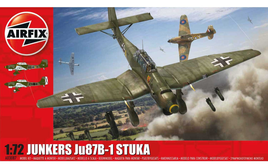 Airfix Junkers Ju87B-1 Stuka 1/72 Kit Review