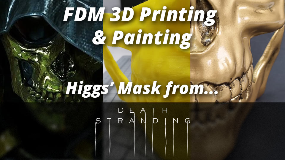 How to paint and detail a 3D Printed (FDM) PLA model