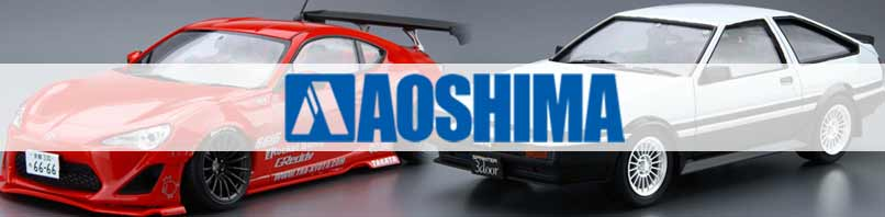 Aoshima Plastic Kits - Available at Hearns Hobbies melbourne