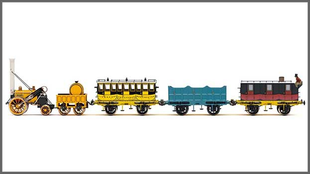 Stephenson's Rocket, L&MR Royal Mail Train Pack (R38956) - expected late 2021