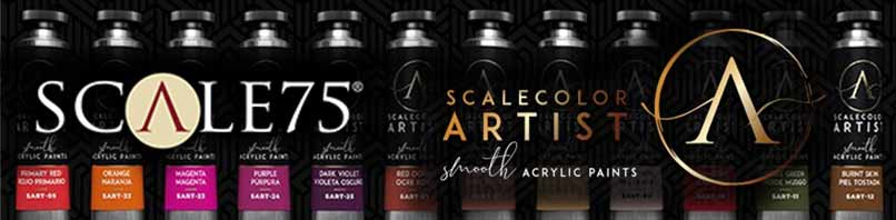 Scale75 Scalecolor Artists Smooth Acrylic Paint
