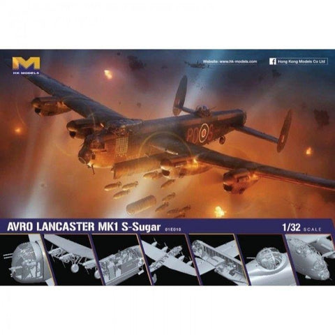 Image of HONG KONG MODELS 1/32 Lancaster MK I