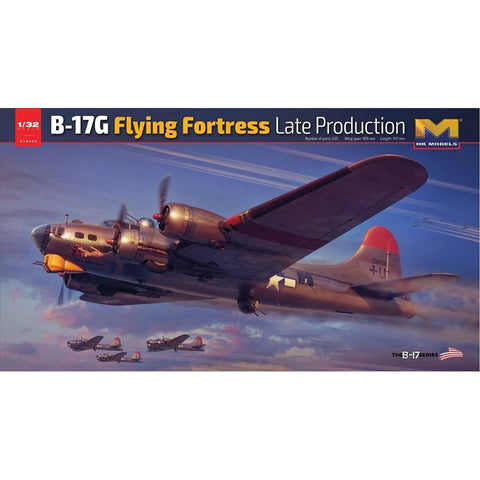 HONG KONG MODELS 1/32 B-17G flying fortress Late Version (R