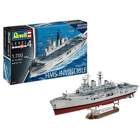 Image of REVELL 1/700 HMS Invincible (Falkland War)
