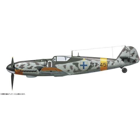 "Image of HASEGAWA 1/48 Messerschmitt Bf109G-6 ""Juutilainen"" with Fig"