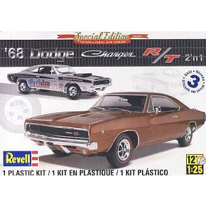 REVELL 1/25 '68 Dodge Charger