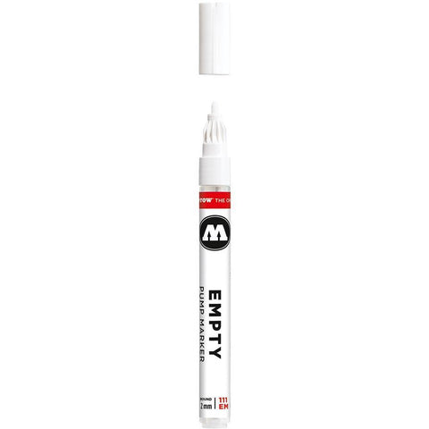 MOLOTOW ONE4ALL 2mm EMPTY Marker (111.000)