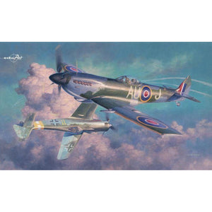 EDUARD 1/48 Spitfire Mk.XVI The Rise of Bubbletops  Dual Combo - Hearns Hobbies Melbourne - EDUARD