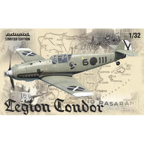 EDUARD 11105 1/32 Legion Condor Plastic Model Kit